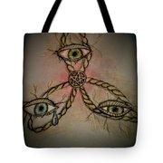 Trinity Eyes Tote Bag