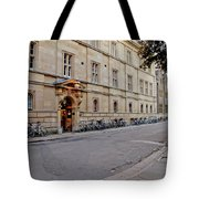 Trinity Hall In The Evening. Cambridge. Tote Bag