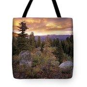 Trinity Mountains Tote Bag