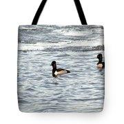 Trio Of Ducks Tote Bag
