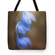Trio Of Spring Flowers Tote Bag