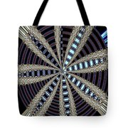 Triple Abstract Tote Bag