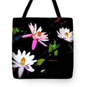 Triple Beauties Tote Bag