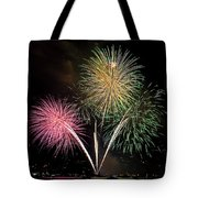 Triple Color Tote Bag