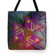 Triple Harmony Tote Bag