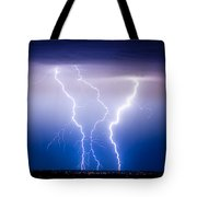 Triple Lightning Tote Bag by James BO  Insogna