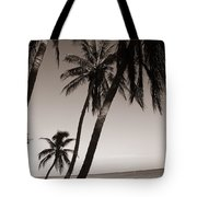 Triple Palms Tote Bag