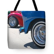 Triple Parked Number Two Tote Bag