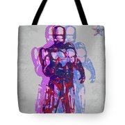 Triple Robocop Rbp Tote Bag