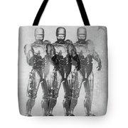 Triple Robocop Tote Bag