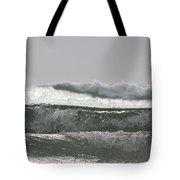 Triple Wave Action Tote Bag
