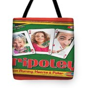 Tripoley Board Game Painting Tote Bag