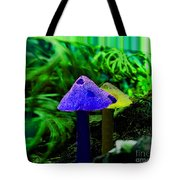 Trippy Shroom Tote Bag