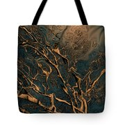 Trippy Tree Tote Bag