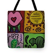 Trippy Vibes Tote Bag