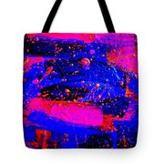 Triptych 1 Cropped Tote Bag