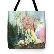 Triptych Panel 1 Tote Bag