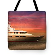 Triton Yacht Tote Bag by Aaron Berg
