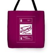 Triumph 1911 Tote Bag
