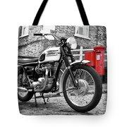 Triumph Bonneville 1963 Tote Bag