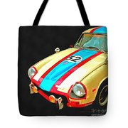 Triumph Gt Pop Art Tote Bag