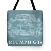 Triumph Gt6 Plus Tote Bag