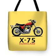 Triumph Hurricane Tote Bag
