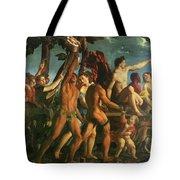 Triumph Of Bacchus 1514 Tote Bag