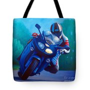 Triumph Sprint - Franklin Canyon  Tote Bag