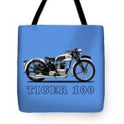 Triumph Tiger 100 1939 Tote Bag