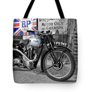 Triumph Tiger 80 Tote Bag