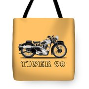 Triumph Tiger 90 1937 Tote Bag
