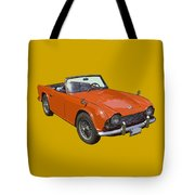 Triumph Tr4 - British - Sports Car Tote Bag