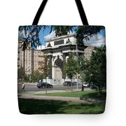 Shadows Of The Triumphal Arch Tote Bag