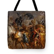 Triumphal Entry Of Henry Iv In Paris Tote Bag