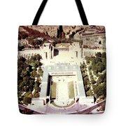 Trocadero Palais De Chaillot 1955 Tote Bag