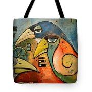 Trois Oiseaux Tote Bag