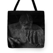 Troll Under Bridge Tote Bag