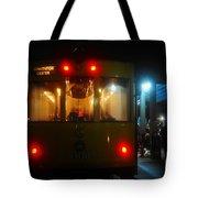 Trolley Car Tote Bag