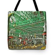Trolley Convoy Tote Bag