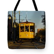 Trolley Ride Tote Bag
