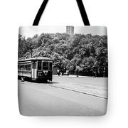 Trolley With Cloisters Tote Bag