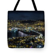 Tromso By Night Tote Bag