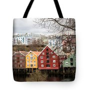 Trondheim Colors Tote Bag