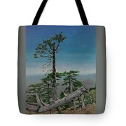 Troodos Mountain  Tote Bag