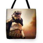 Trooper Landscape Tote Bag