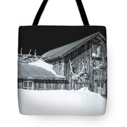Trophies Mounted On Nostalgia, Selenium Tone  Tote Bag