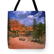Tropic Canyon Bridge In Bryce Canyon Np Utah Tote Bag