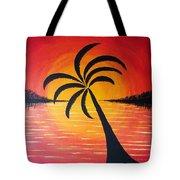 Tropic Of Palms Tote Bag