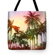 Tropical 11 Tote Bag